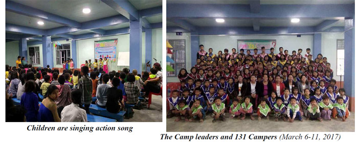 Learn more about the children camp at the South East Asia Bible College.