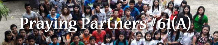 Praying Partners #61 (A) – May Newsletter