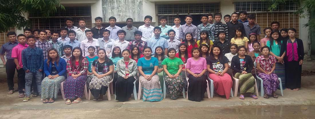South East Asia Bible College students in the 2015 academic year.