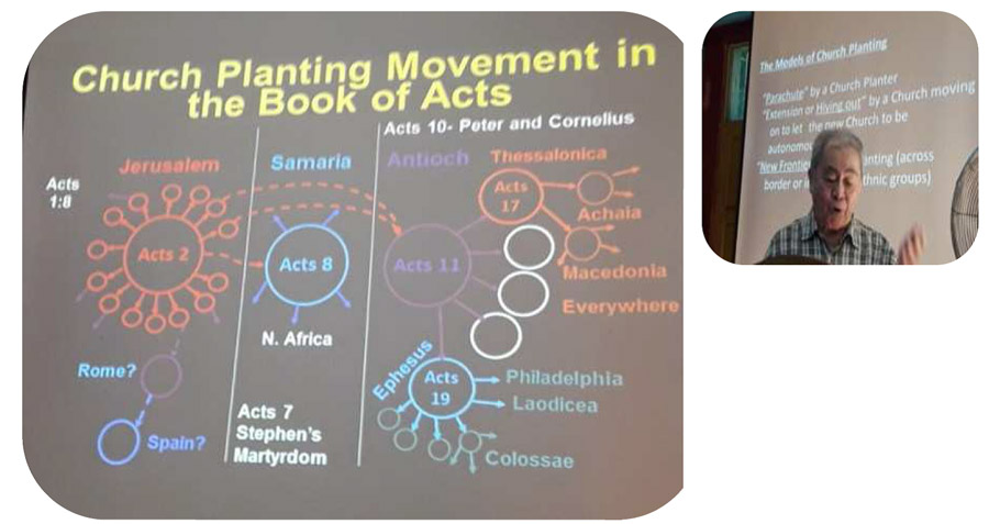 Learn more about the church planting at the South East Asia Bible College.
