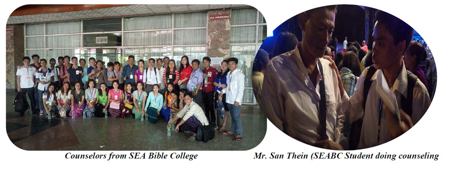 Read more about the counselors from the South East Asia Bible College Love Peace Joy Festival.
