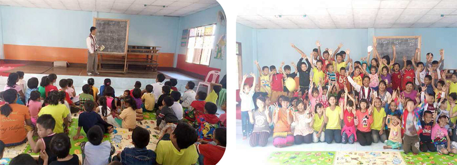 Read more about the Children Christmas at the South East Asia Bible College.